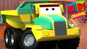 100 Videos Of Trucks Carrirer Vehicle For Babies 3D Cartoon By Kids