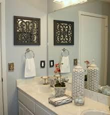 Charming Ideas Bath Wall Decor Bathroom Pottery Barn Country Blue
