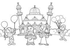Ramadan Coloring Pages For Kids Is An Islamic Colouring Activity On RamadanThese Will Teach Some Basics About Islam To