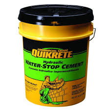 Quikrete Self Leveling Floor Resurfacer by Quikrete 20 Lb Hydraulic Water Stop 112620 The Home Depot