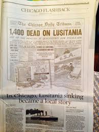 Where In Ireland Did The Lusitania Sink by North American Manx Association Blog May 2015