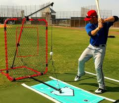 SwingAway MVP Batting Trainer   Batting Swing Trainer Best Dimeions For A Baseball Batting Cage Backyard Cages With Pitching Machine Home Outdoor Decoration Building Seball Field Daddy Made This Logans Sports Themed Fortress Ultimate Net Package World Jugs Sports Softball Frames 27 Ply Hdpe Multiple Youtube Lflitesmball Dealer Installer Long Academy Artificial Turf Grass Project Tuffgrass 916 741 How To Use The Most Benefit