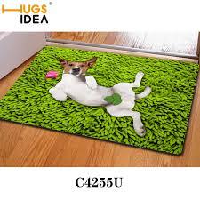 grün hund lustige design badematten dünne küche teppiche gelb lila bad teppich teppiche und matten tier bodenmatte für zu hause