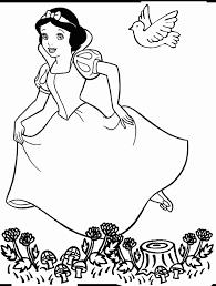 Free Printable Coloring Page Snowwhite 01 Cartoons Snow White