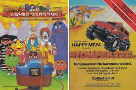 100 Stomper Toy Trucks Mini 44 In McDonaldland Fun Times