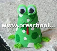 Frog Craft From Paper Cup Ideas For Kids