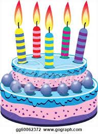 birthday cake stock gg clipart