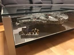 lego wars ucs millennium falcon 75192 perfekte vitrine