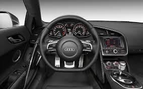 Audi R8 v10 Interior Wallpaper