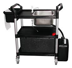 Mobile Self Contained Portable Electric Sink by Portable Catering Sink Sinks Ideas