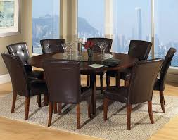 Rustic Round Dining Table For 8