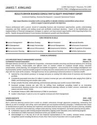 Business Yst Sample Resume Finance Ophion Co