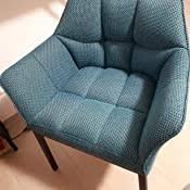 clp loungesessel octavia mit stoffbezug i polsterstuhl mit armlehnen und gestell aus edelstahl metall i in vielen farben erhältlich farbe grau