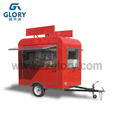 100 Mobile Pizza Truck Mini Rickshaw Food Serving Trailer Oven Food Cart