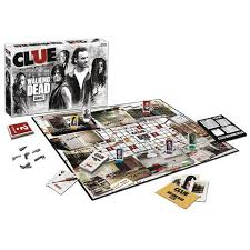 CLUE The Walking Dead Game AMC TV Edition