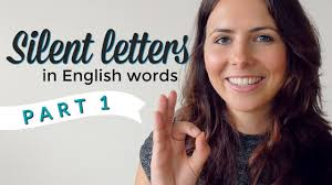 Silent Letters English Pronunciation Vocabulary PART 1 YouTube