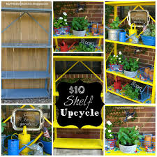 My Thrift Store Addiction 10 Upcycle Utility Shelf To