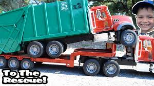 100 Garbage Truck Video Youtube GARBAGE TRUCK S For Children L Kids Bruder To The