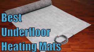 Suntouch Heated Floor Thermostat Manual by Top 6 Best Underfloor Heating Mats Reviews Youtube