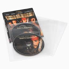 Clear Sleeve Floor Protectors Canada by Atlantic 25 Cd Dvd Or Blu Ray Media Living Clear Movie Sleeves