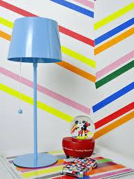 Halloween Washi Tape Ideas by Create Herringbone Wall Decor With Washi Tape Hgtv