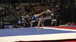Dominique Moceanu Floor Routine by Danell Leyva Floor 2013 At U0026t American Cup Youtube
