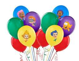 Bubble Guppies Bathroom Decor by Balloon Or Tablecloth Stickers Team Umizoomi Bubble Guppies Or