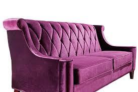 Armen Living Barrister Sofa by Barrister Sofa Purple Velvet U0026 Crystal Lc8443purple Decor