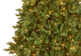 Artificial Christmas Tree 7ft Pre Lit by 7ft Pre Lit Georgetown Fir Feel Real Artificial Christmas Tree