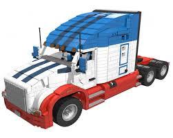 100 Semi Truck Toy LEGO MOC3125 Kenworth T680 Technic 2015