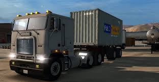 100 20 Ft Truck Container Ft 2 Axles Trailer American Simulator Mod ATS Mod