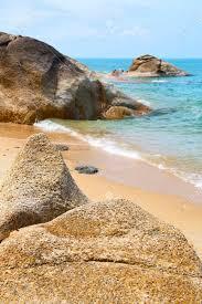 100 Playa Blanca Asia Kho Samui Baha Isla De Asia Playa Blanca Rbol Rocas En Tailandia Y El Mar De China Del Sur