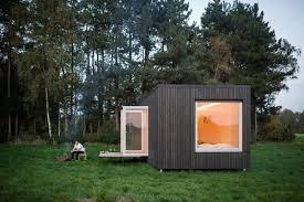 100 Minimalist Cabins These OfftheGrid In Belgium Keep Their Locations Secret