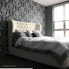 100 Walls By Design Damask Stencil For Walls Reusable Damask Stencils For Elegant Wall Decor