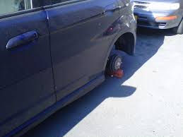100 Truck Nuts Illegal Reviving An Old Crime Wheel Thieves Put Cars Back Up On Blocks