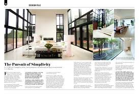 100 Home Design Magazine Australia The Pursuit Of Simplicity Crave Sept 2015 Interior