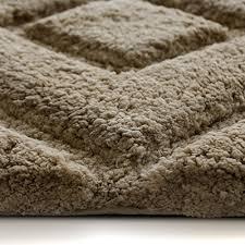 tapis de bain de luxe casa pura marron clair très épais doux