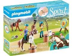playmobil spirit pru mit pferd und fohlen 70122 pferde