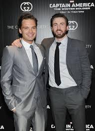 Proof That Chris Evans And Sebastian Stan Make 1 Marvelous Team