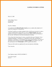 9 examples of job application letters