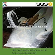 reparation de siege auto jetables en plastique housse de siège auto pour auto réparation