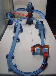 Tidmouth Sheds Wooden Ebay by Thomas And Friends Trackmaster Risky Rails Bridge Drop With Train