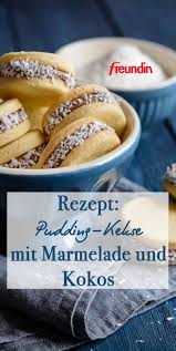 rezept pudding kekse mit marmelade und kokos freundin de