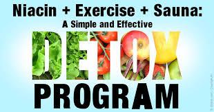 Niacin Exercise and Sauna Detoxification Program for You