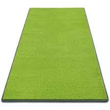 1a teppich läufer auf maß dynasty grün 66 cm x 350 cm