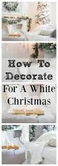 Fraser Fir Christmas Trees Kent by Elegant And Simple Christmas Living Room In White Decorating