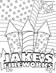New Years Eve Fireworks Coloring Pages Printable Free Kids Large Size