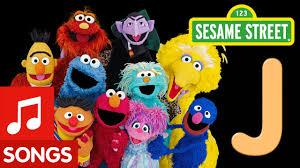 Sesame Street Letter J Letter of the Day