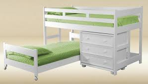 L Shaped Low Bunk Beds Small Home Decoration Ideas