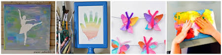 Arts N Crafts Ideas For Preschoolers Easy Art Projects Toddlers On Balloon Stamping Earth Day
